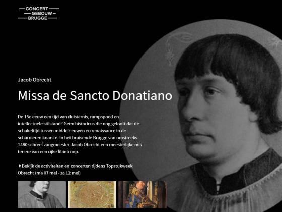 meer weten of de Missa de Sancto Donatiano?
