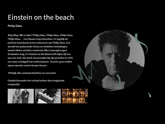 Meer weten over Einstein on the Beach?