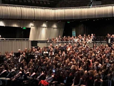 Voorzitter Europees Parlement speecht in het Concertgebouw