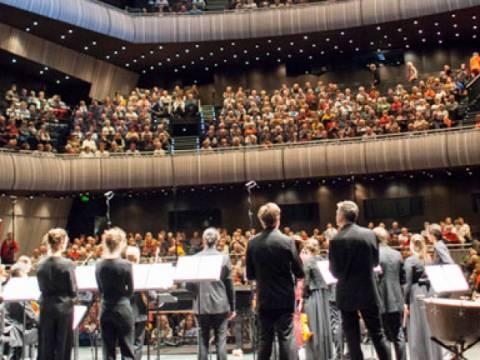 Iedereen Klassiek lokt 12800 bezoekers naar het Concertgebouw en de Brugse binnenstad