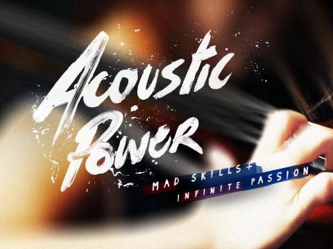 Winnaar wedstrijd Acoustic Power 2019 bekend