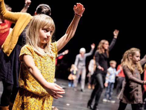 Dance workshop for children and parents