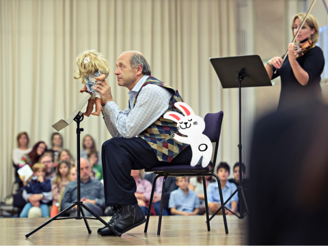 Musici van het Budapest Festival Orchestra