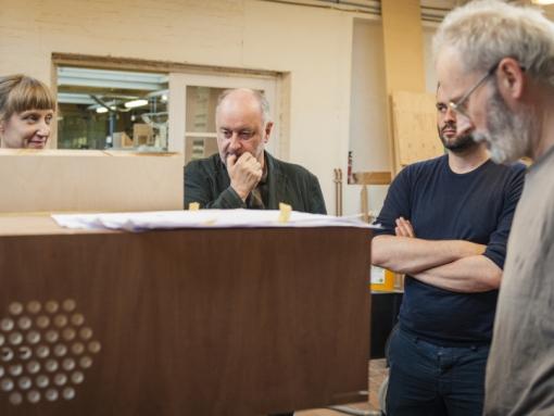 The making of van de Luistermaquette