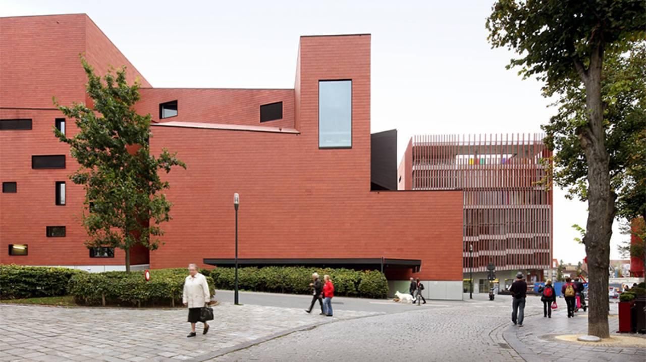 Zijgevel Concertgebouw