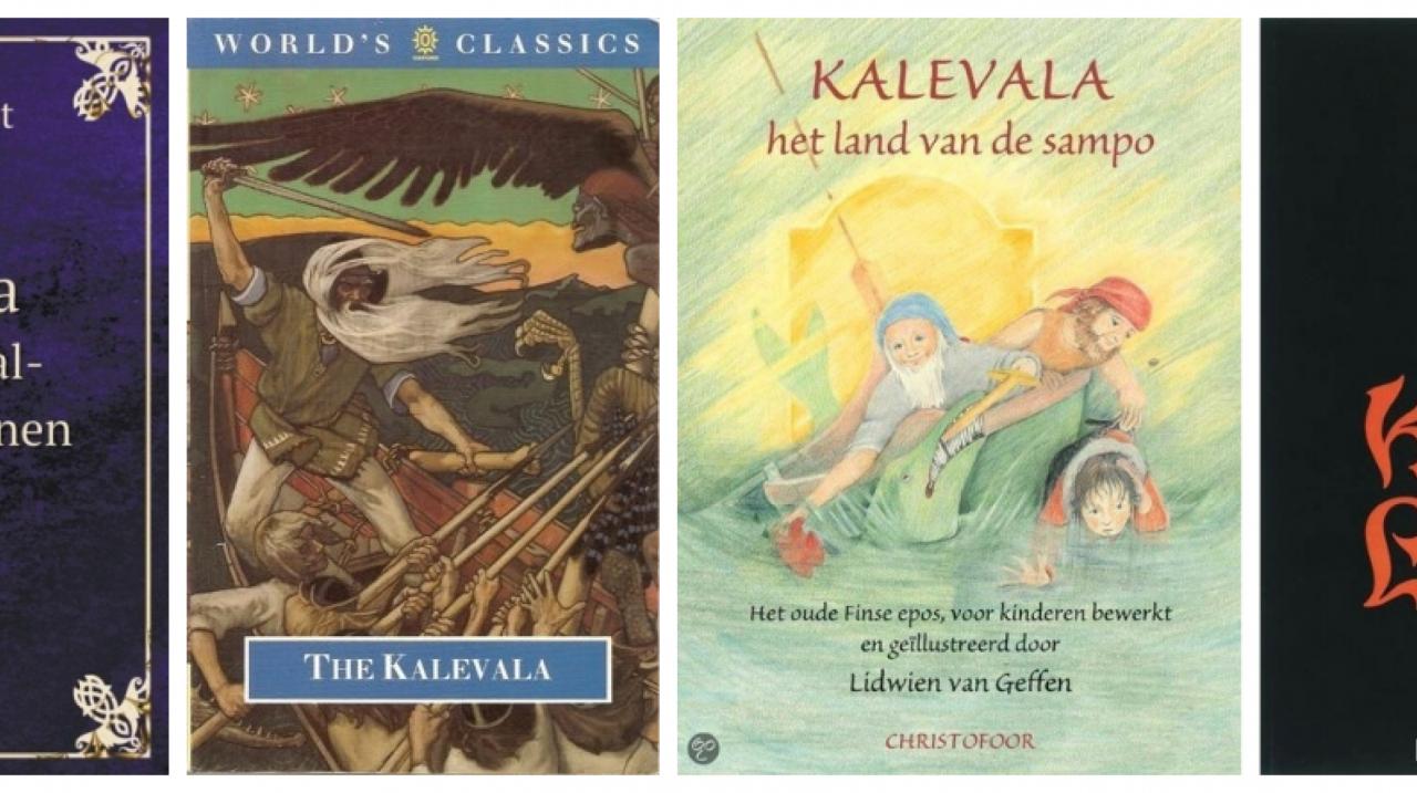 Verschillende uitgaven van het Finse epos