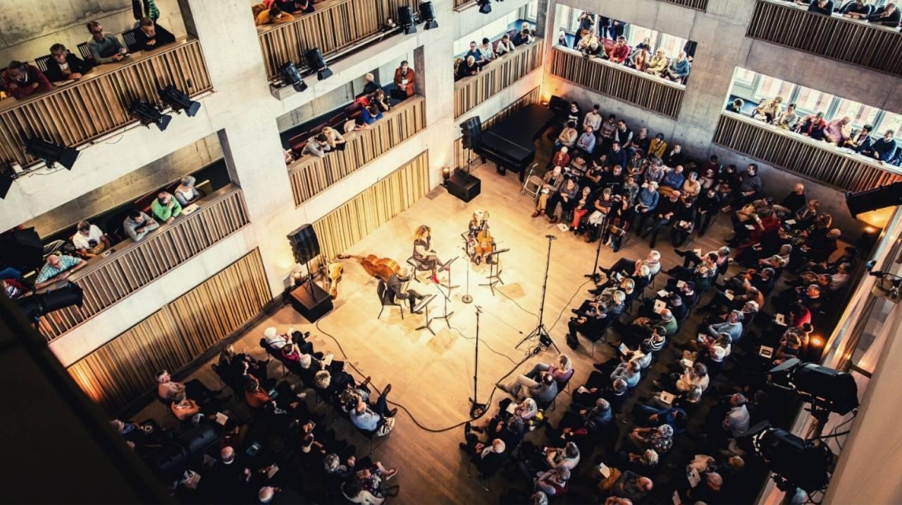 Concert in de Kamermuziekzaal voor corona