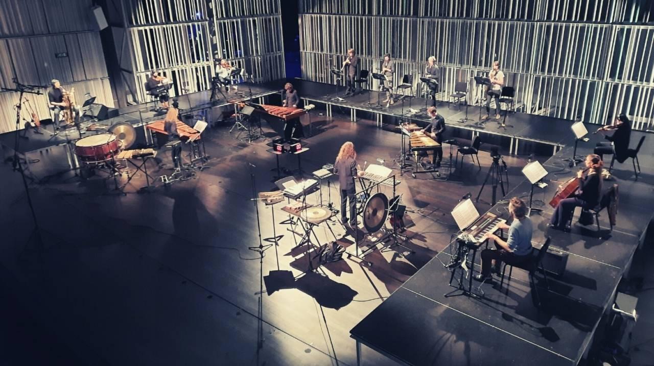 Opname cd in Concertzaal