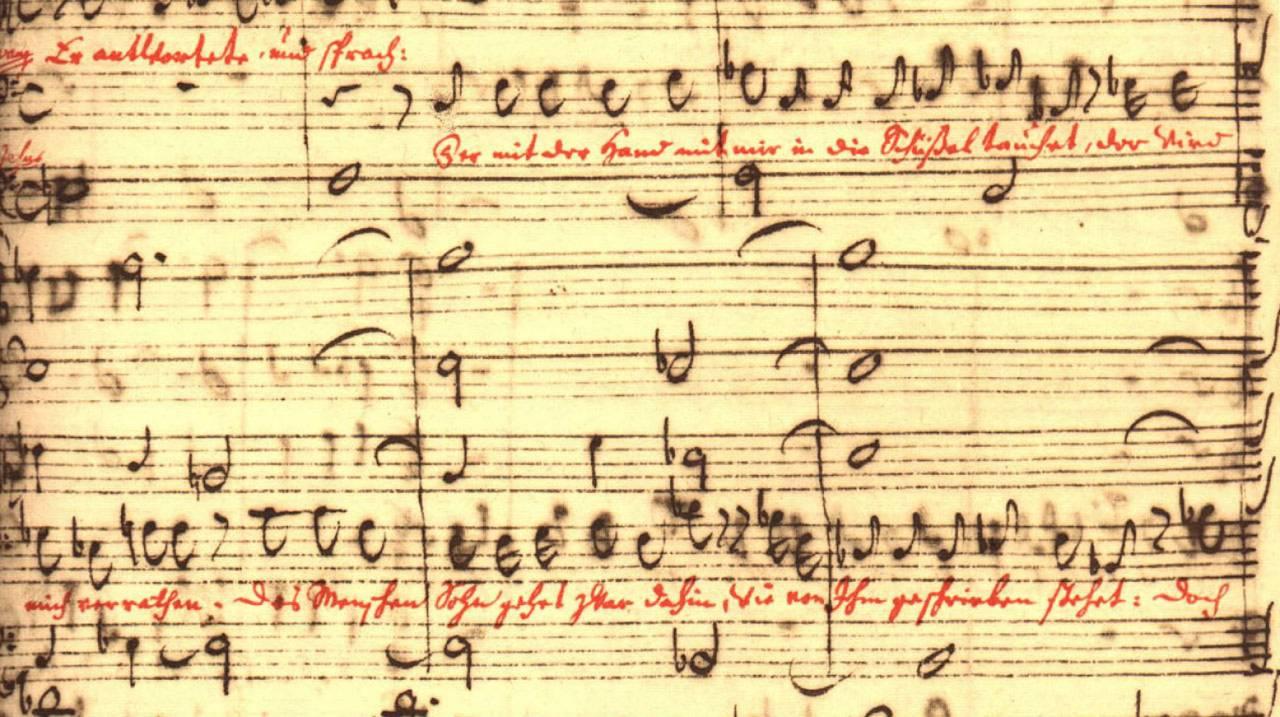 Mattheuspassie manuscript