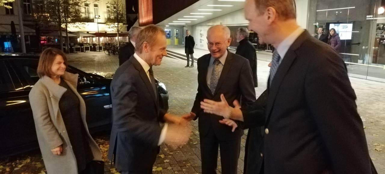 Donald Tusk opent academiejaar Europacollege