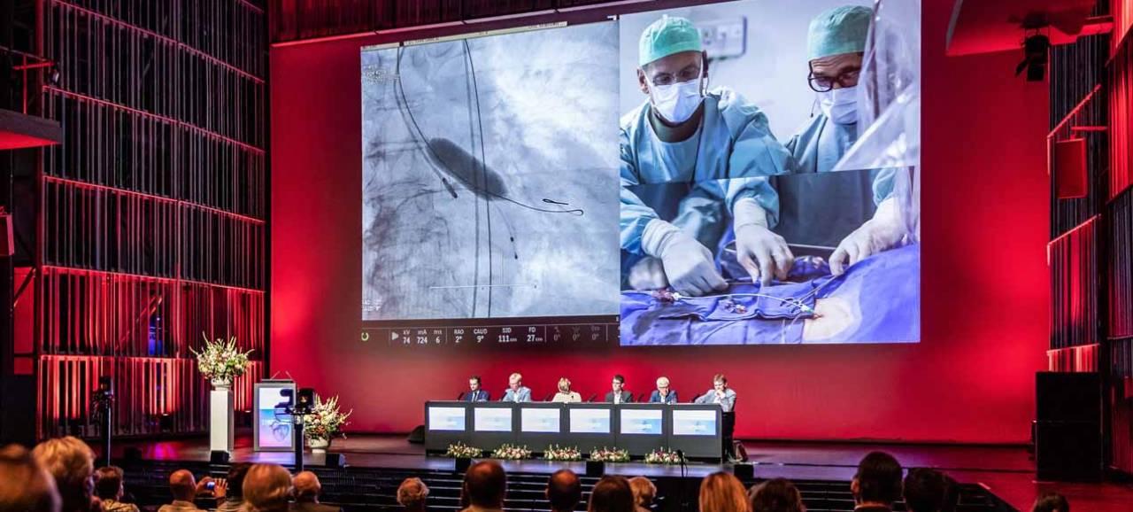 Live Symposium van Hartcentrum Brugge is eerste Covid Safe Congres in Concertgebouw
