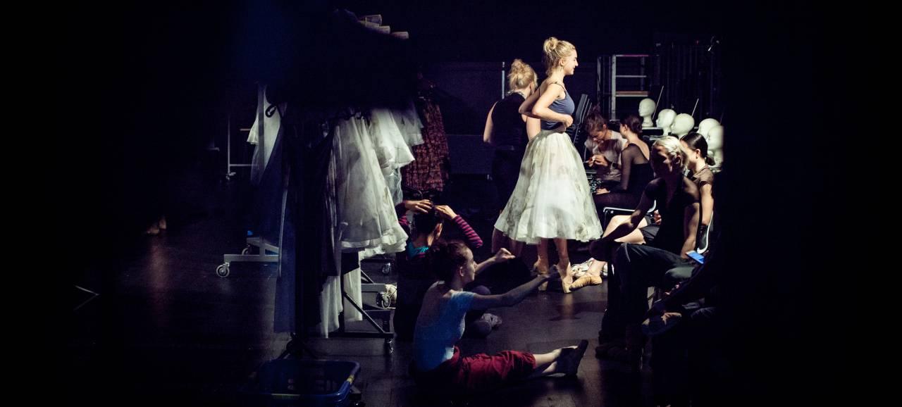 Backstagefoto's van onder meer Ravel & Boléro