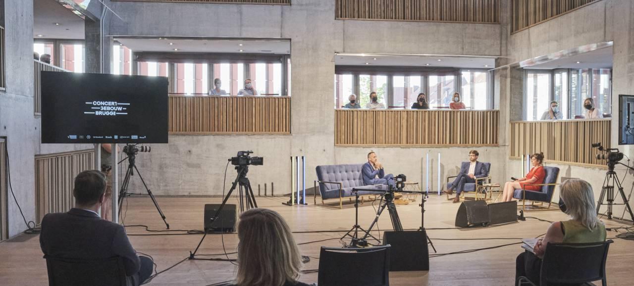 Hybride seizoenslancering door en voor Concertgebouw Brugge