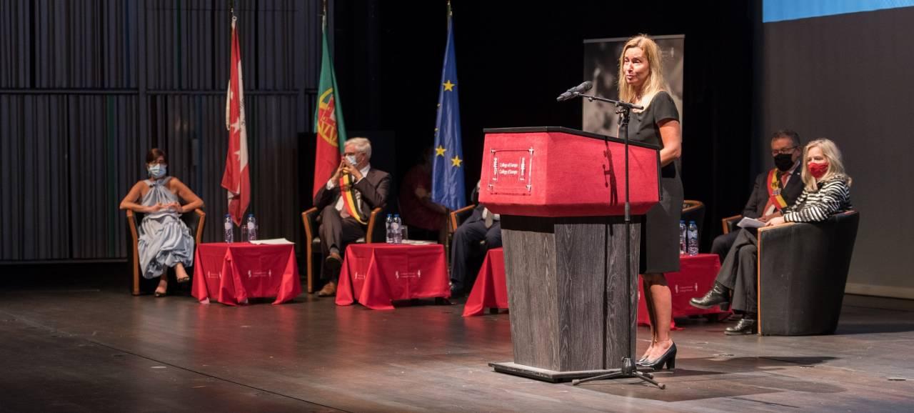 Europacollege sluit academiejaar 20-21 af in het Concertgebouw