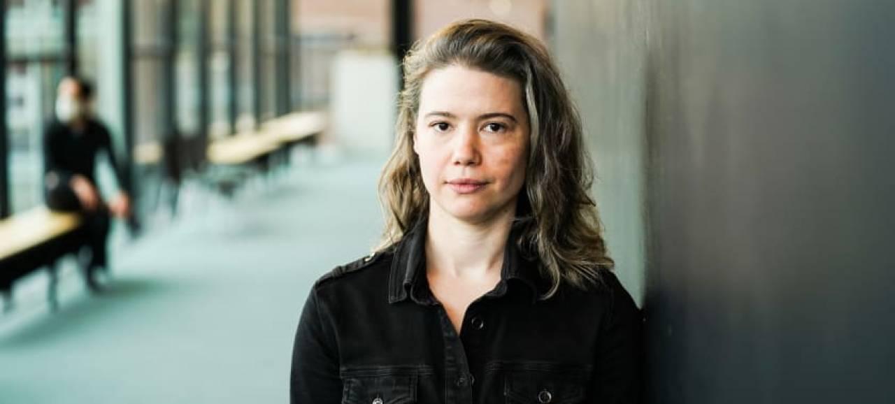 Elisabeth Borgermans in een interview op KLARA